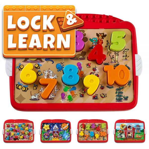 Lock and Learn - Preschool Age 2 and Up