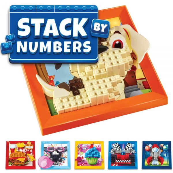 Stack By Numbers - Kindergarten Age 5 and Up