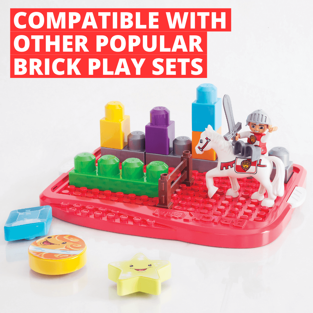 Compatible With Other Popular Brick Playsets - Lock and Learn - Brick Mates