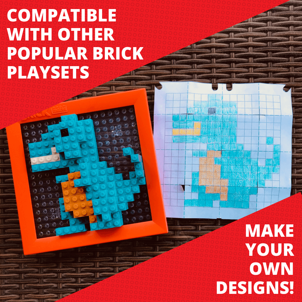 Make Your Own Designs - Stack By Numbers - BrickMates