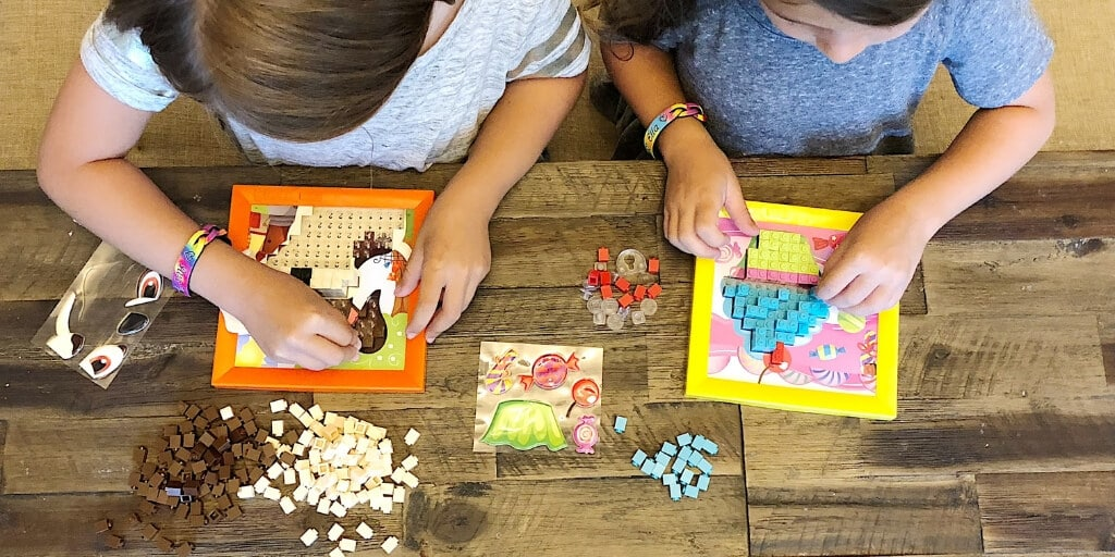Why STEM Learning Gives Moms Early Bragging Rights blog - stacking number puzzle