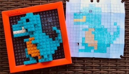 Brick Mates - Create Your Own Designs - Dinosaur