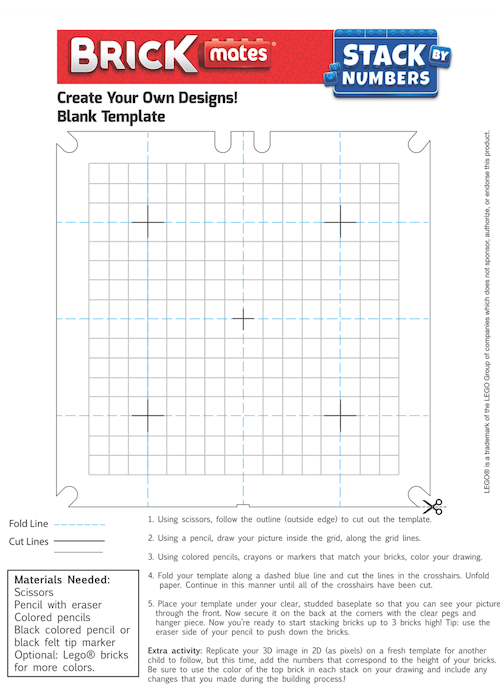 BrickMates - Template - Stack By Numbers