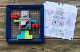 Create Your Own Designs - Brick Mates - Robot