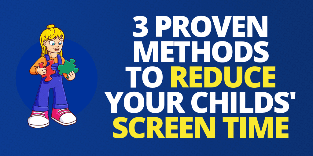 These 3 proven ways to reduce your kids screen time while making play time more fun AND educational are game changers every mom should know.